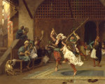 La Danse Pyrrhique, 1885 by Jean-Leon Gerome