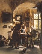 The Argument by Johann Hamza