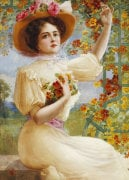 A Summer Beauty, 1909 by Emile Vernon