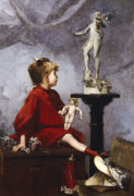 The Doll by Louis-Robert Carrier-Belleuse