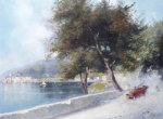 Race On The Lake by Oscar Ricciardi