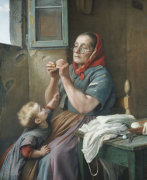 A Difficult Task by Aurelio Zingoni
