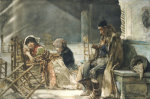 At Prayer by Jose Villegas y Cordero