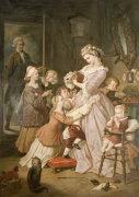 Lotte (Werther's Leiden) by Wilhelm Von Kaulbach