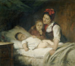 The Sleeping Babe by Rudolf Epp