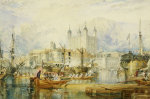 The Tower Of London, C. 1825 by Joseph Mallord William Turner