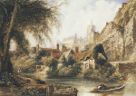 Knaresborough by Peter de Wint