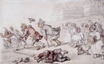 The Bath Races by Thomas Rowlandson