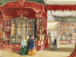 Part Of The French Court No. 1. A Scene At The Great Exhibition, Crystal Palace by Walter Goodall