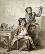 A Brace Of Blackguards, 1789 by Thomas Rowlandson