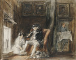 The Disabled Commodore In His Retirement At Greenwich Hospital, 1830 by Sir David Wilkie