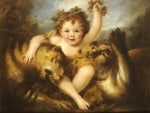 Portrait Of The Hon. George Lamb As The Infant Bacchus by Maria Hadfield Cosway