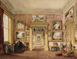 The Dining Room At Thirlestaine House by Christie's Images