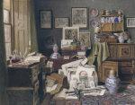 Corner Of A Study by Benjamin Walter Spiers