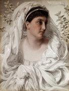 Alcestis: A Portrait Of Lady Donaldson, 1877 by Anthony Frederick Augustus Sandys