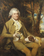 Portrait Of Squire Morland, Seated Three Quarter Length, In A Buff Coat And Breeches by James Millar