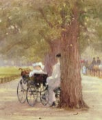A Rest In The Row, 1892 by Rose Maynard Barton