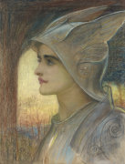 St Joan Of Arc by Sir William Blake Richmond