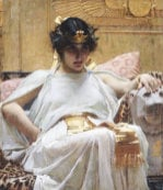 Cleopatra, Circa 1887 by John William Waterhouse