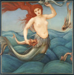 A Sea-Nymph, 1881 by Sir Edward Burne-Jones