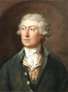 Portrait of the Artist Bust Length in a Green Coat and White Stock