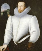 Portrait Of A Gentleman Traditionally Identified As Sir Walter Raleigh by Christie's Images