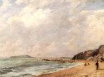 A View Of Osmington Bay, Dorset, Looking Towards Portland Island by John Constable