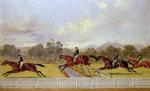 A Steeplechase by Henry Alken