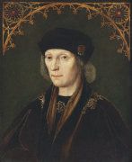 Portrait Of King Henry VII, 1501 by Flemish School