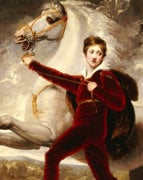 Portrait Of A Boy by Thomas Stothard