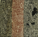 A Rare Huari Cotton Textile Resist-Dyed With Erratic Geometric Motifs by Christie's Images