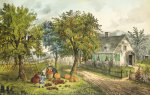 American Homestead; Autumn, 1868 by Christie's Images