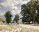The Road To Marly-Le-Roi, 1875 by Alfred Sisley