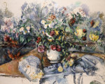 A Large Bouquet Of Flowers, Circa 1892 by Paul Cezanne