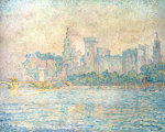Avignon, Morning, 1909 by Paul Signac