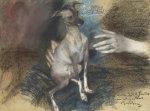 Elegante Au Chien by Giovanni Boldini