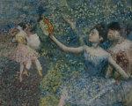 Dancer With A Tambourine, Circa 1897 by Edgar Degas