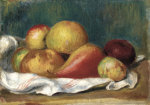 Still Life With Apples And A Pear, 1889 by Pierre Auguste Renoir