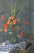 Bouquet De Capucines, 1920 by Felix Vallotton