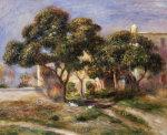 The Medlar Trees by Pierre Auguste Renoir