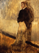 Portrait Of A Man Standing With His Hands In His Pockets, 1868 by Edgar Degas