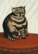 The Tabby by Henri Rousseau