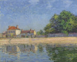 Bords Du Loing, Saint-Mammes, 1885 by Alfred Sisley