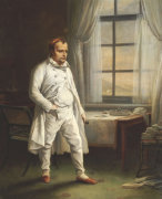 Napoleon On St. Helena by Charles Auguste Steuben
