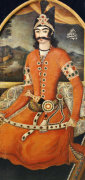 Portrait Of Sultan Muhammad Mirza, Persia, C. 1835 by Sayyid Mirza