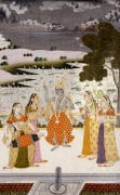 Krishna with the Gopis. Rajasthan c.1760 by Christie's Images