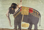 Portrait Of The Elephant 'Alam-Guman Gajraj'. Mughal, Circa 1650 by Christie's Images