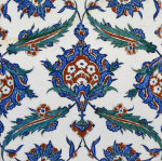 An Iznik Pottery Tile, c.1580 (I) by Christie's Images