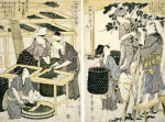 Silk-Worm Culture By Women by Kitagawa Utamaro