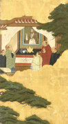 A Detail From Portuguese Traders by Christie's Images